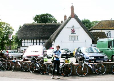 Enjoy an English Pub on your bike tour