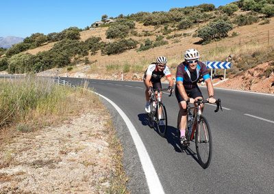 Road Cycling Around Grazalema in Southern Spain