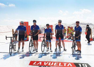 Cycle the Team Time Trial in La Vuelta