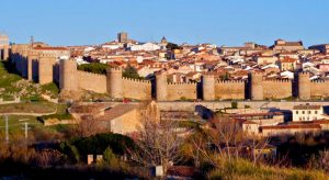 Cycling La Vuelta 2019 with Cycling Country Bike Tours, Visit Ávila
