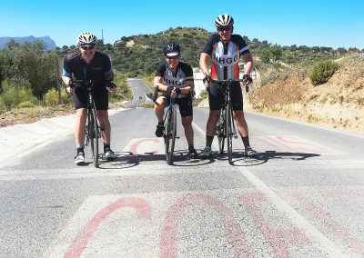 Famous Vuelta Climbs - Biking the Pandera