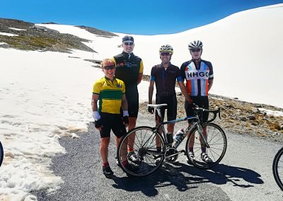 Cycling in Granada's Sierra Nevada
