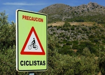 Biking in Southern Spain