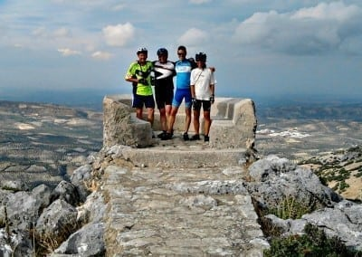 Cycling in Andalucia, Spain