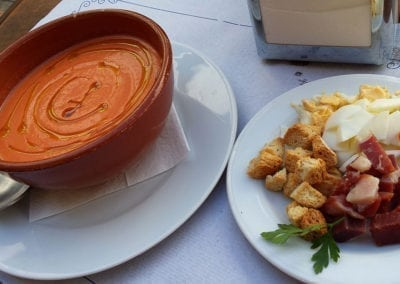 Andalucian Dishes - Salmorejo