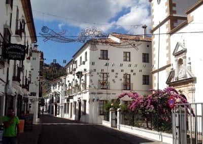 Road Bike Trip to White Villages of Andalusia, cycle to Grazalema
