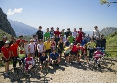 Road Bike Trip of White Villages of Andalucia
