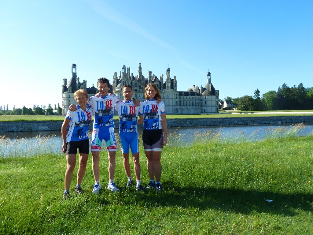 Bike Tour in France, Chambord