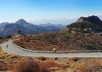 Sierra Nevada Road Cycling in Andalucia, Spain