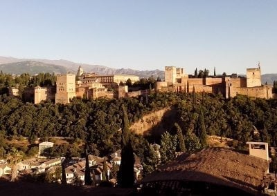 Cycle to Granada's Alhambra Palace