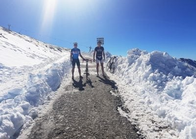 Cycling Pico Veleta, 3394m