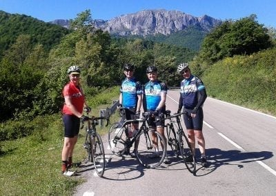 SCycling Vuelta Northern Spain Climbs!