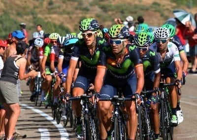 The Vuelta 2016 Camperona Stage Movistar