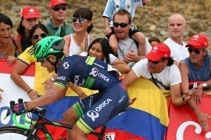 Cycle La Vuelta Stages Formigal, Pyrenees, Esteban Chaves