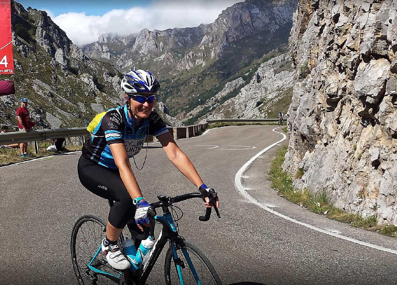 Riding the Best Cycling Climbs at La Vuelta only hours before the peloton