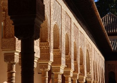 Cycling from Seville to Granada, Alhambra Palace