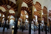 Visiting The Mezquita, Andalucia, Spain