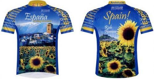 Spanish Cycling Jersey