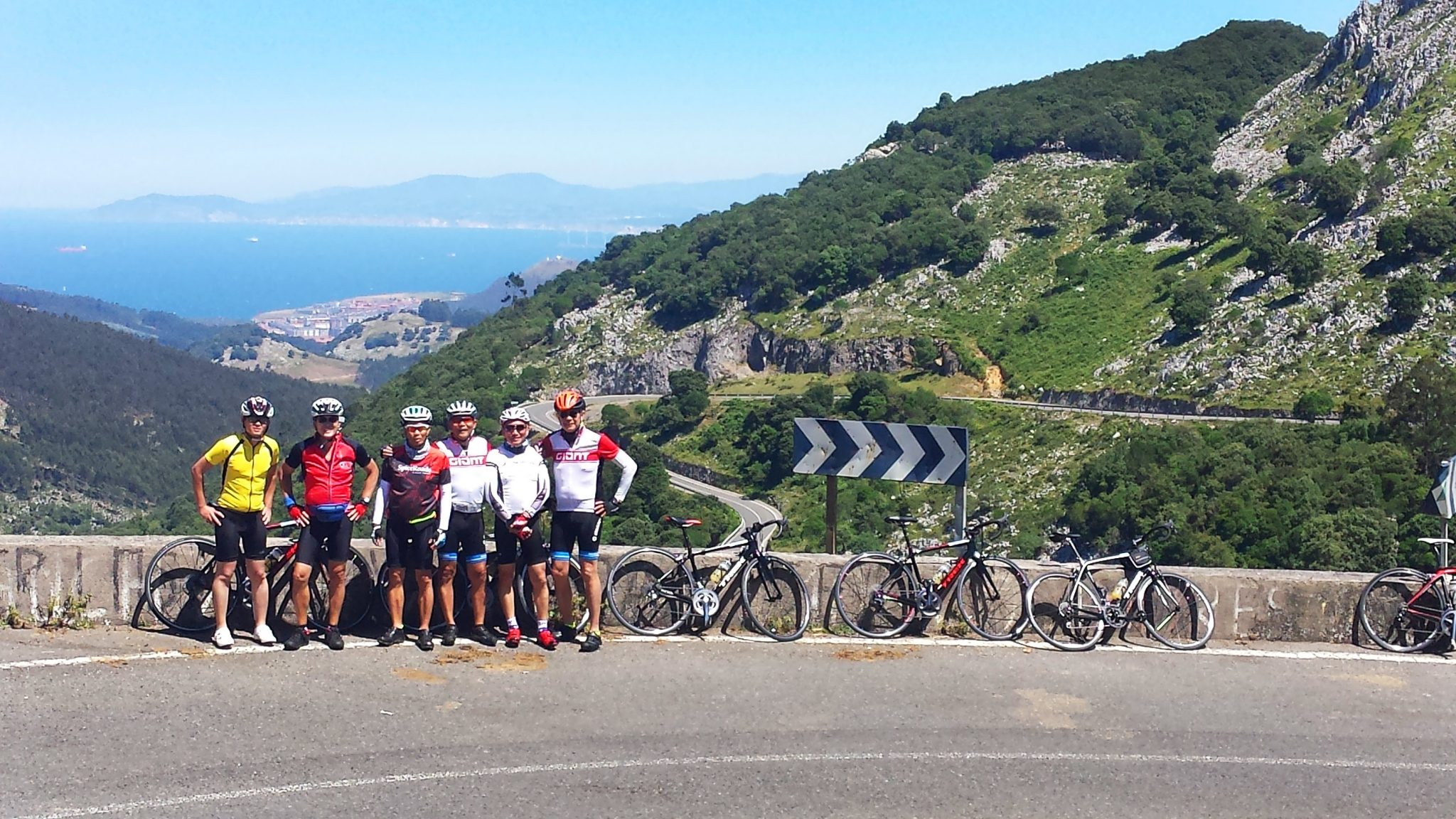 Private cycle trip in Northern Spain