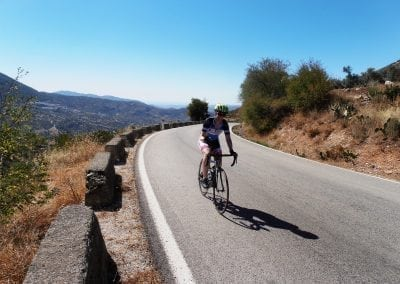 Inland Andalucia has the best climbs