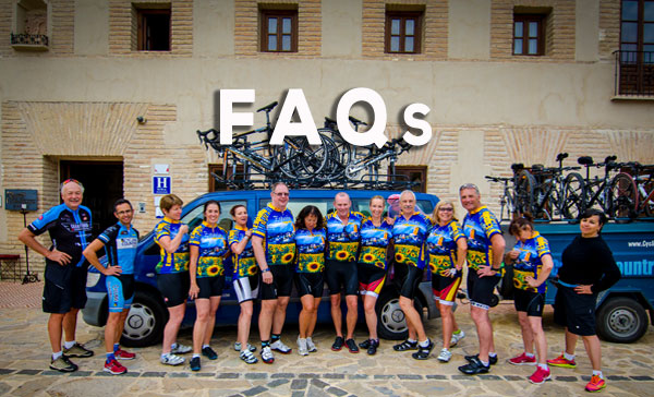 Cycling Europe? See our FAQs