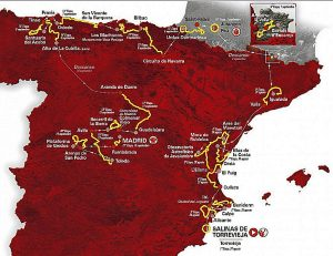 Route Map La Vuelta 2019