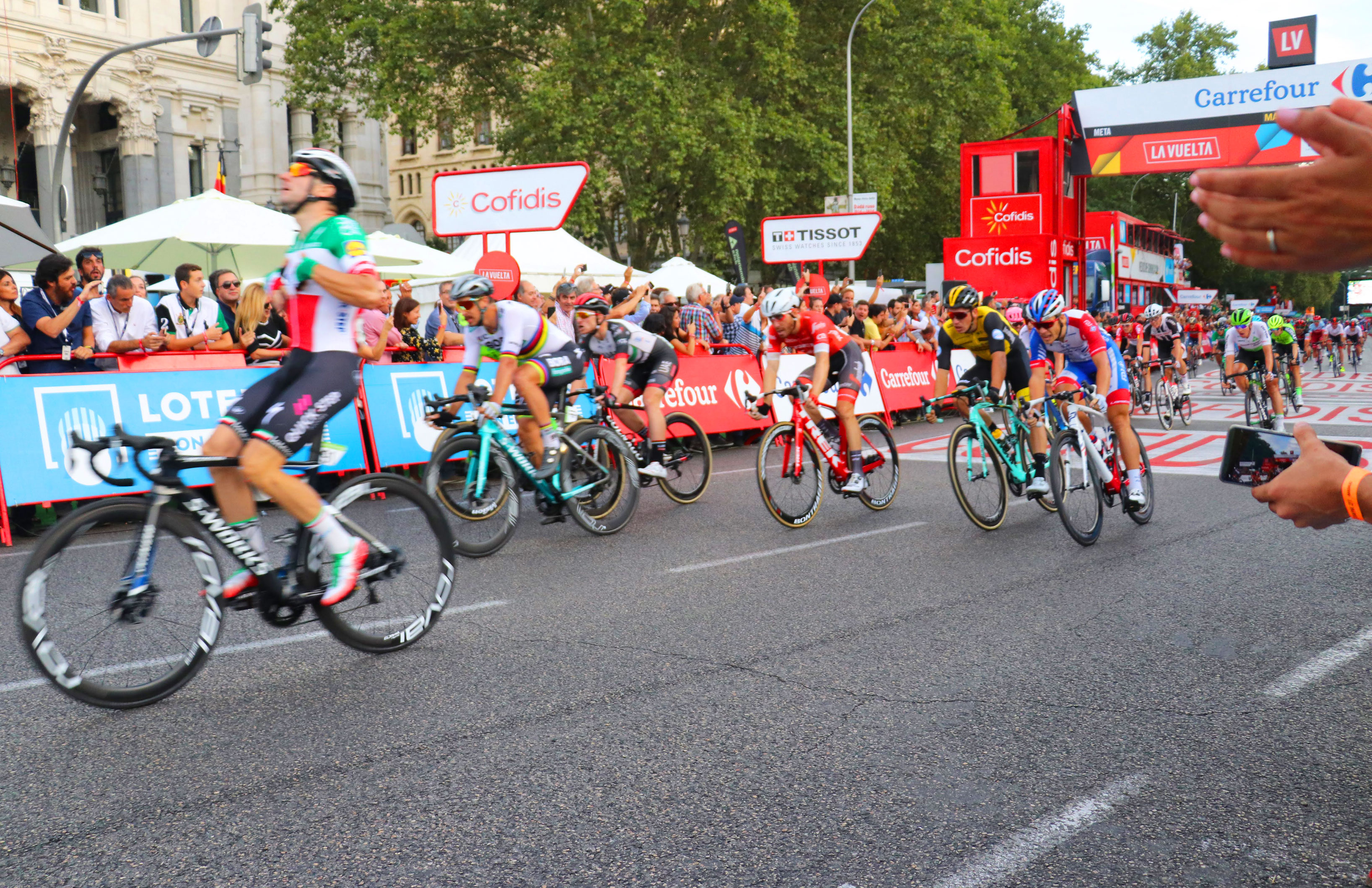 Inspiring Cycling Quotes to Motivate you to Ride - Stage Winner in La Vuelta - Elia Viviani