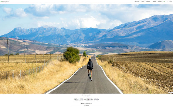 Cycling Country Bike Tours Featured in International Magazine