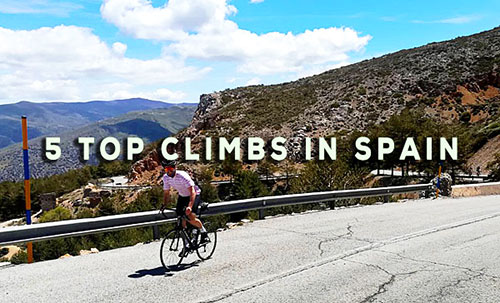 Top Cycling Climbs in Spain by Cycling Country