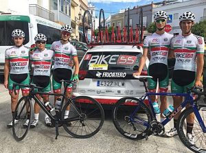 Local Cycling Team in Granada Spain