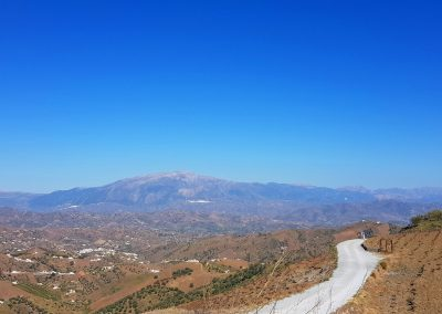Cycling inland Andalucia, the Axarquia