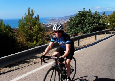 Cycling from Malaga, Costa del Sol