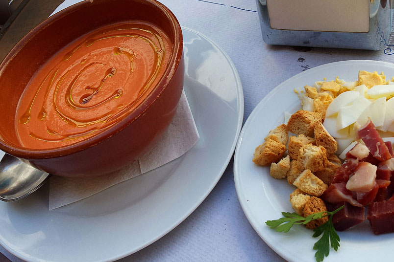 Gazpacho, Spain's most famous food