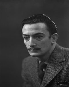 Salvador Dali by Harcourt