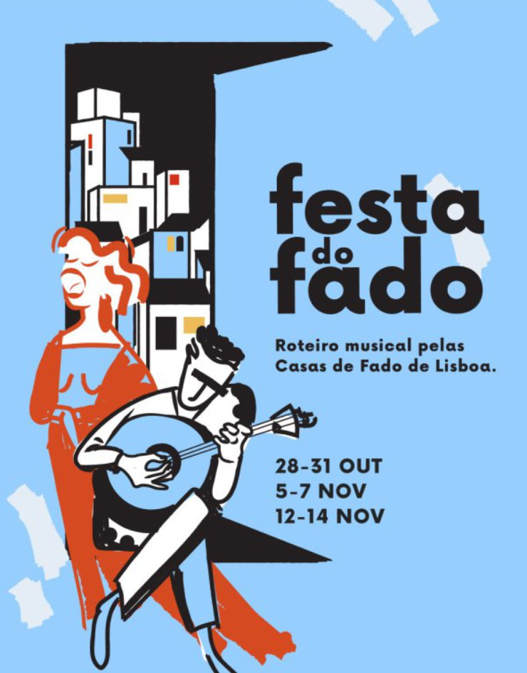 Enjoy the Festa of Fado in LIsbon, Oct 2020