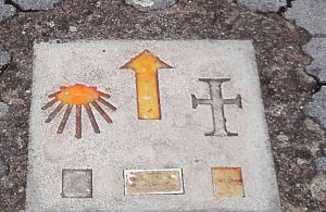 Camino Signs to Compostela