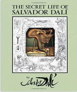 Art books about Spanish Artist, Salvador Dali