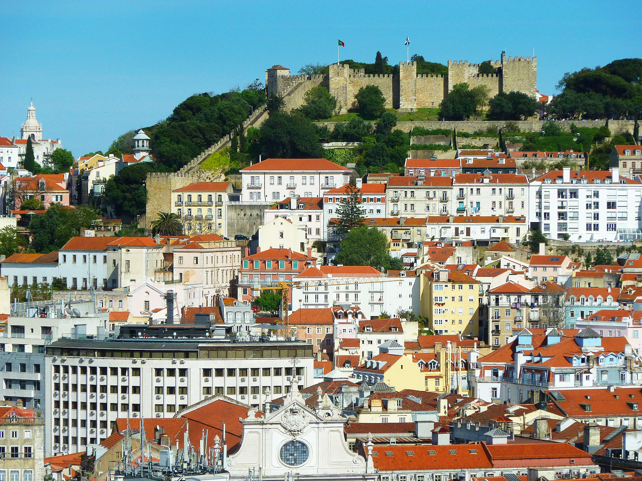 Visit Lisbon's Alfama district