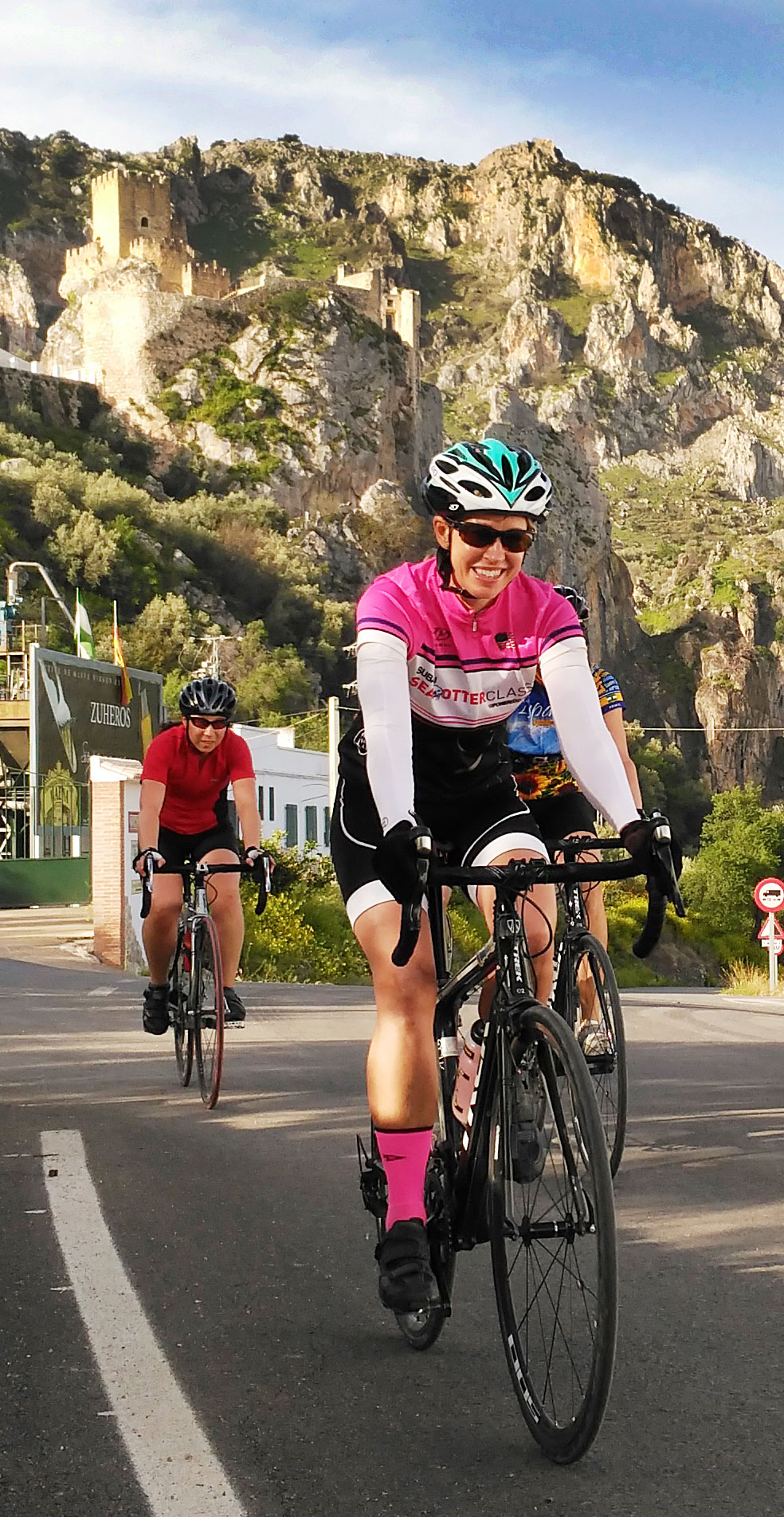 Cycling in a Group in Andalucia