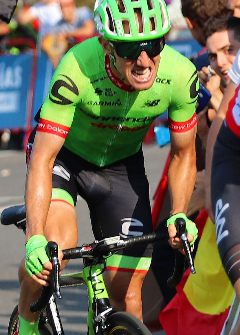 Canadian Procyclist Michael Wood