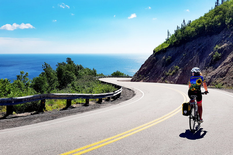 Cycling Canada's Famous Cabot Trail