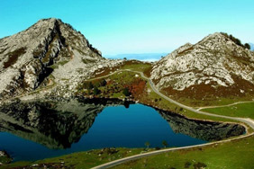 Cycling Spains Famous Summits, Covadonga