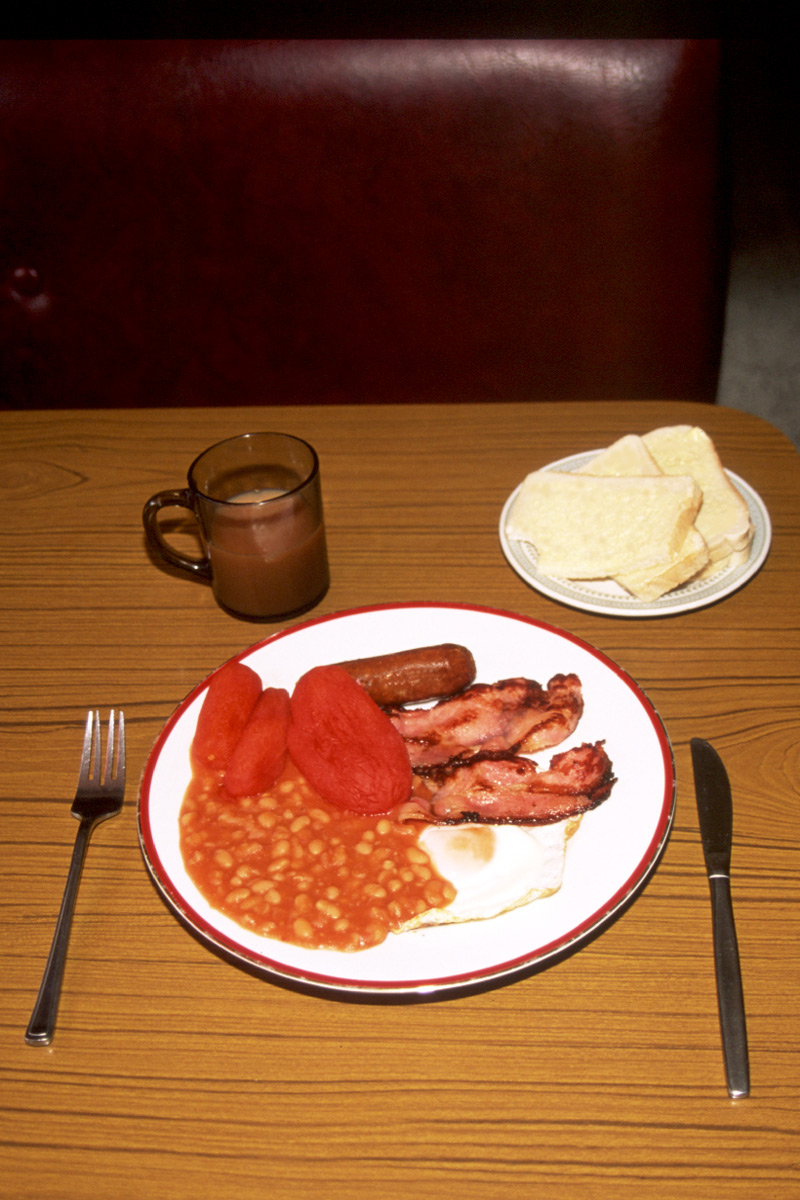 Have a Full English Breakfast in England