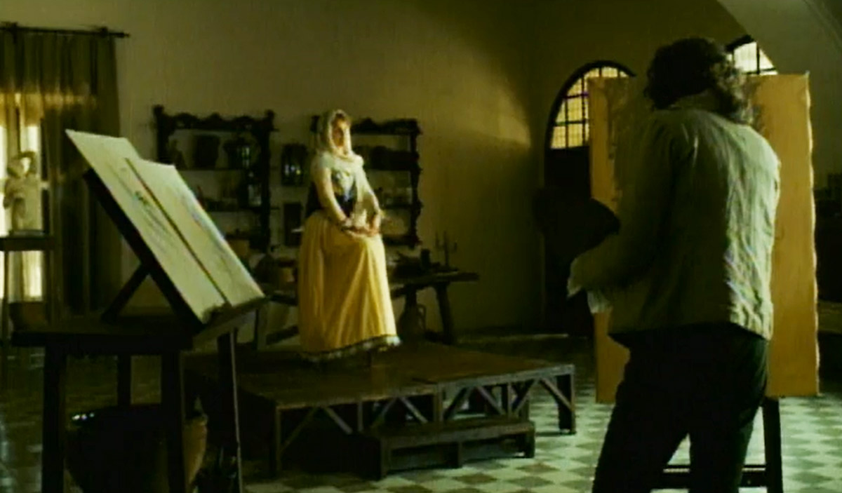 Learn About Spanish Art - watch the Spanish film, Goya's Ghost