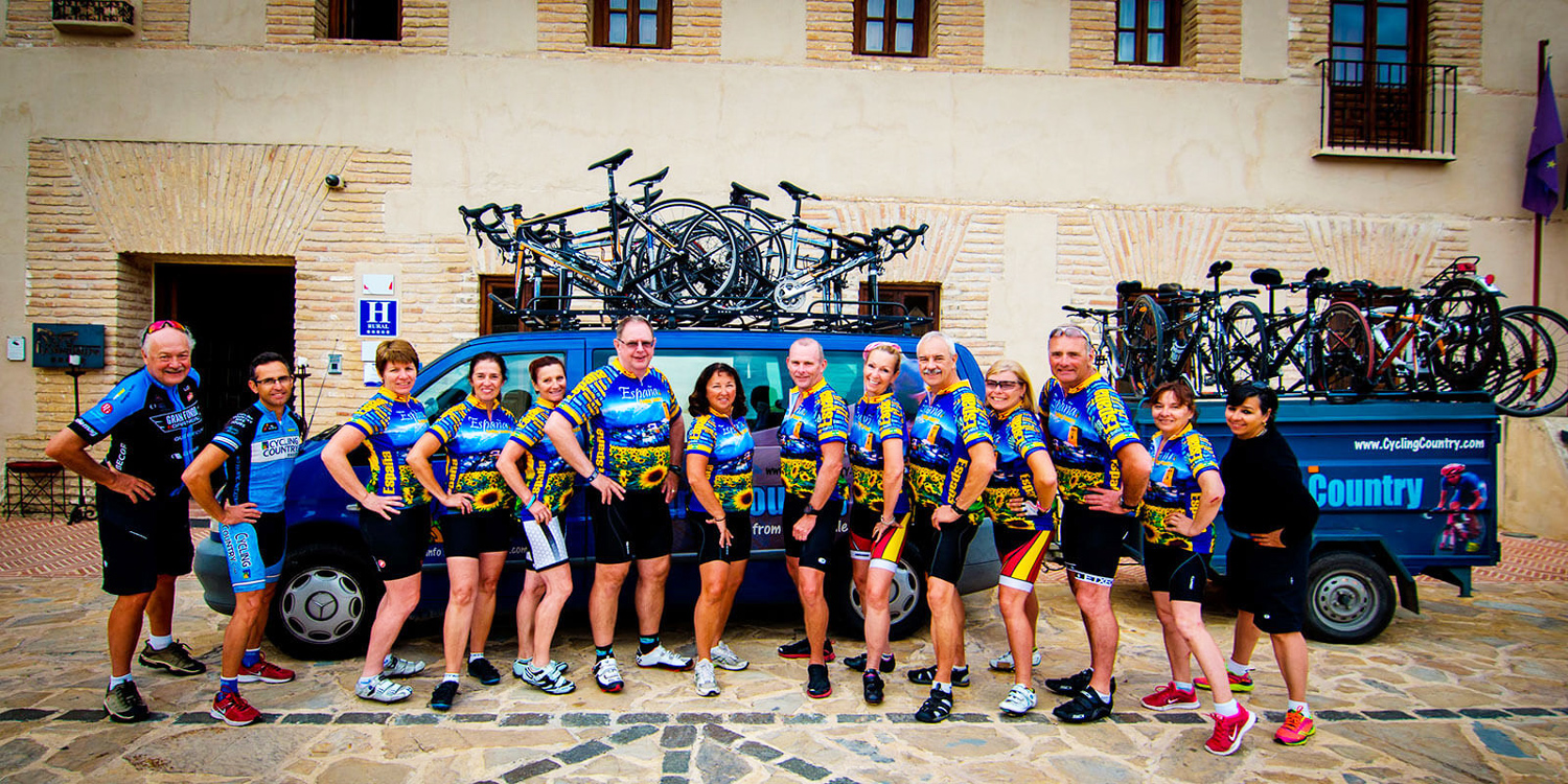 Historic Hotels on Spanish Bike Tour