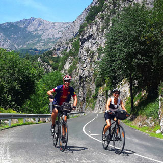 Cycle tours in the Picos de Europa
