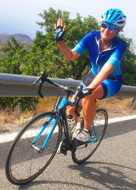 Cycling from Malaga on the Costa del Sol