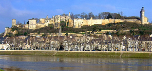 Chinon, home of France's most powerful historical women