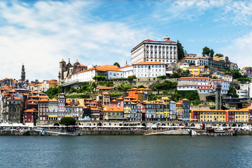Best places in Porto, Portugal for interesting architecture, Ribiera