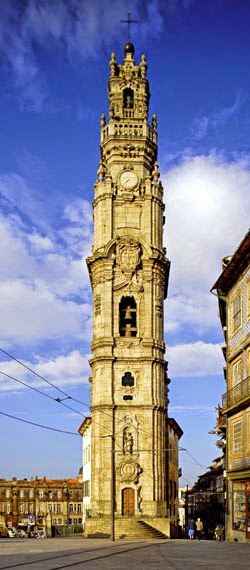 Porto's famous architectural monuments, Clerigos Tower